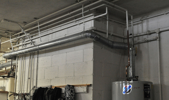 Piping for Water Heater
